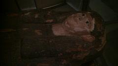 Egyptian woman Mummy - stock footage