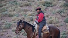 Gaucho - Argentinean cowboy (editorial) Stock Footage