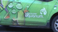 Aquarium Vancouver BC - Marketing ideas Stock Footage