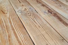 Unpainted wooden surface - stock photo