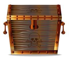 Stock Illustration of Pirates Treasure Chest
