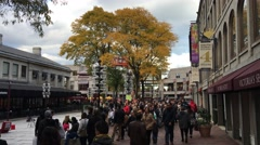 Boston Faneuil Hall ED Stock Footage