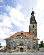 Stock Photo of Evangelical Lutheran Church of St Sophia Bayreuth Upper Franconia Bavaria
