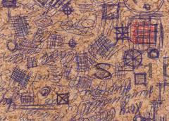 Hand drawn doodle pattern Stock Photos