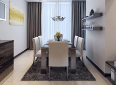 Dining kitchen modern style - stock illustration