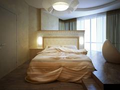 Bedroom-garde Stock Illustration