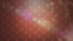 HD Valentines Day Background 14 Stock Footage