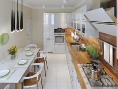 Stock Illustration of Modern kitchen