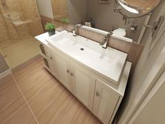 Bathroom modern design Stock Illustration