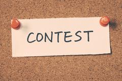 contest - stock photo