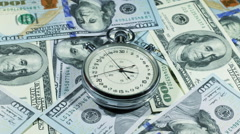 Time Is Money 5 - stock footage