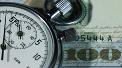 Time Is Money 7 - stock footage