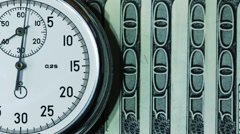 Time Is Money 9 Stock Footage