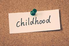 Stock Photo of childhood