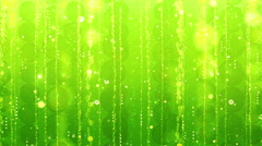 Green abstract background seamless loop Stock Footage