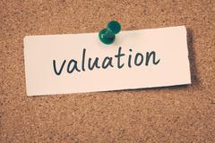 valuation - stock photo