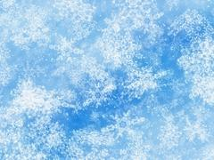 Stock Illustration of snowfall backgrounds of a sunlight cold weather
