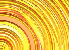 curled bright sun rays texture - stock illustration