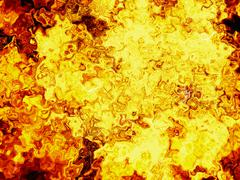 Stock Illustration of red burning fire lava texture