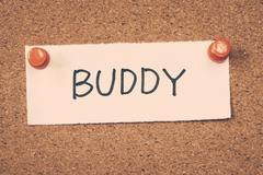buddy - stock photo