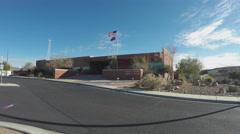 Mohave County Sheriff Department Wide- Kingman Arizona Stock Footage