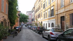 Daily life of rome, italy, 4k Stock Footage