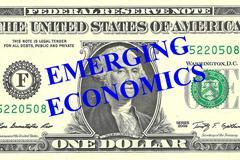 Emerging Economics concept Stock Illustration