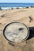 Diving Mask on the Sand Beach Kuvituskuvat
