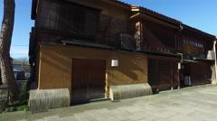 Nishi Chaya District in Kanazawa, Japan Stock Footage