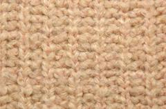 Soft pink woolen texture as background Stock Photos