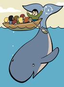 Natural learning Stock Illustration