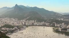 Guanabara Bay Rio de Janeiro, Brazil - 1080p Stock Footage