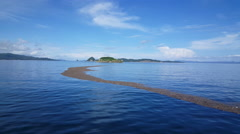 Paquera to Puntarenas with the ferry in Costa Rica. Stock Footage