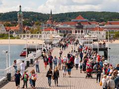 The Sopot Pier Stock Photos
