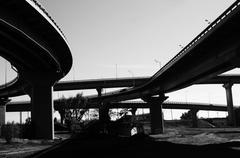 Stock Photo of The bridge across the Dnieper River