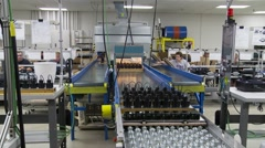 Manufacturing Facility Stock Footage