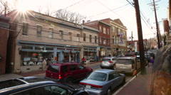 Main Street Time-lapse HD Stock Footage