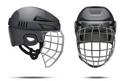 Classic Goalkeeper Hockey Helmet - stock illustration