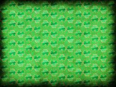 Green shamrock background Stock Illustration
