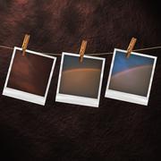 Polaroid photographs Piirros