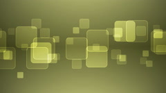 Overlapping Squares on Gray Yellow Background. - stock footage
