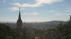 Overlooking Spanish Steeple - stock footage