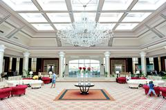 SHARM EL SHEIKH, EGYPT -  NOVEMBER 29: The lobby of Rixos Sharm El Sheikh lux Stock Photos