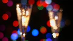 Abstract lights bokeh. - stock footage