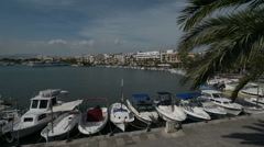 Spanish Marina at mallorca port de soller Stock Footage