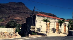Road on Gran Canaria in full HD. Stock Footage