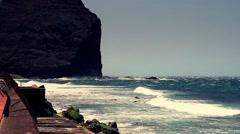 Atlantic ocean in full HD. Stock Footage