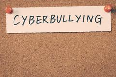 cyberbullying - stock photo