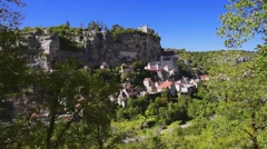 Rocamadour, Midi-Pyrenees, France Stock Footage