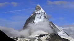 Matterhorn, Mont Cervin, Switzerland Stock Footage